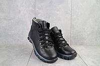 Подростковые ботинки кожаные зимние черные Twics К2, фото 1