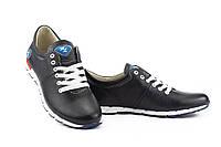 Подростковые кроссовки кожаные весна/осень синие Milord Olimp, фото 1