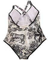 Слитный купальник Christian Dior Кристиан Диор черный размер М