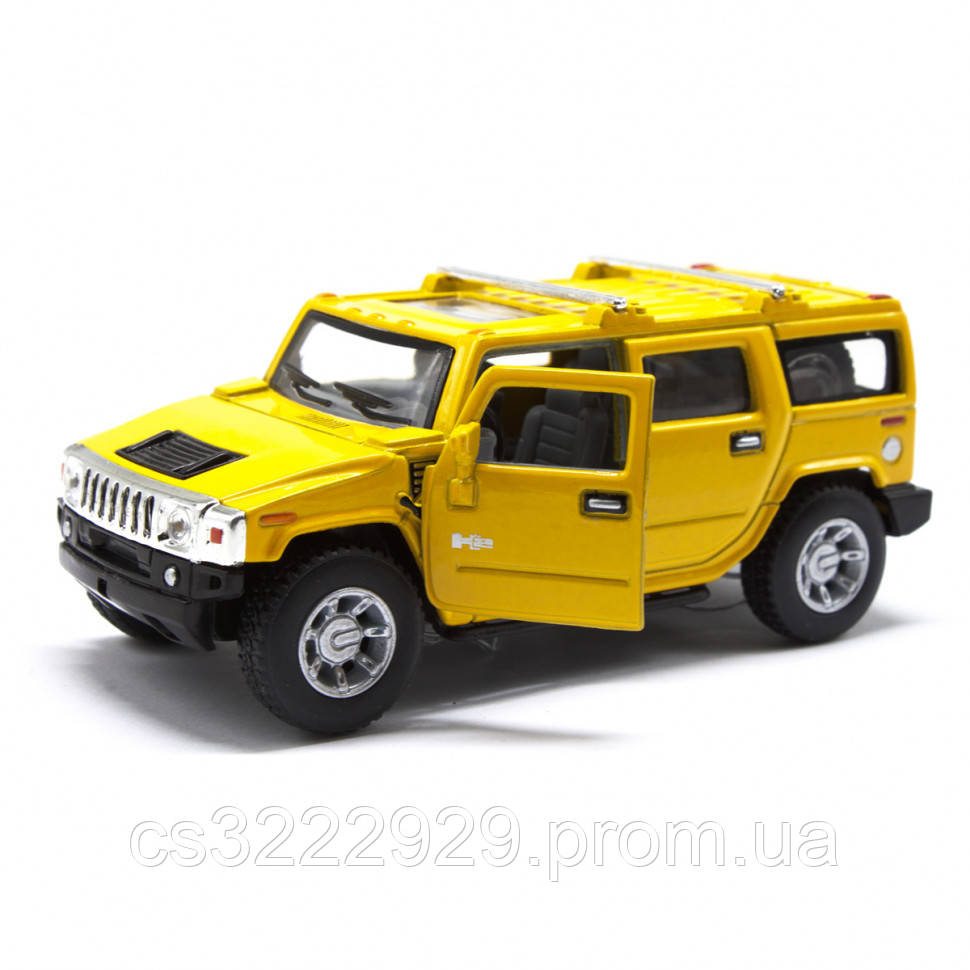 Жел. машинка KT5337WB (Yellow)