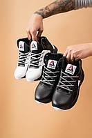 Детские кроссовки кожаные зимние черные CrosSAV 317 Sport, фото 1