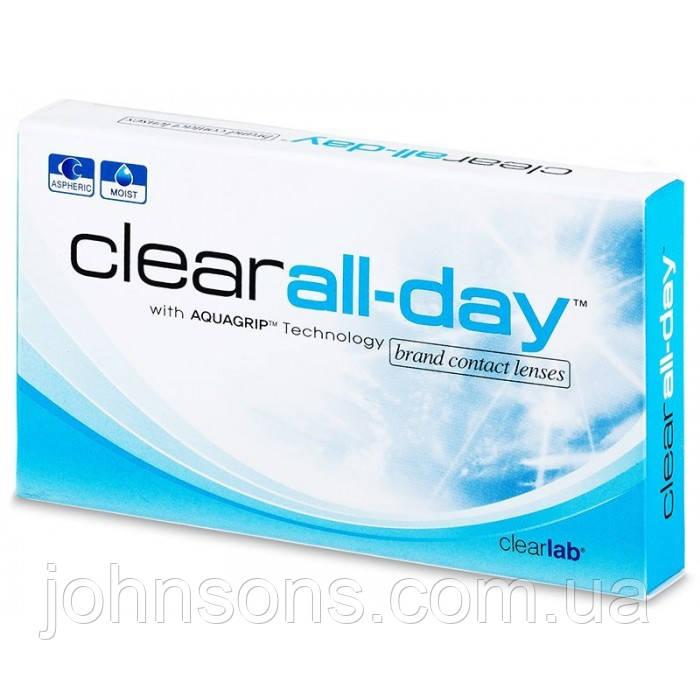 Контактные линзы Clear all day 1 шт
