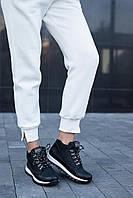 Женские ботинки кожаные весна/осень черные Road-style Бс024-01 байка, фото 1