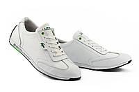 Мужские кроссовки кожаные весна/осень белые Anser Л5 Lerond White, фото 1