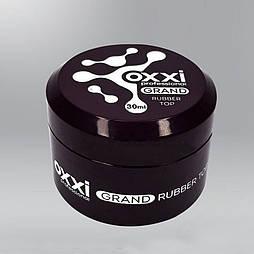 Топ каучуковый Oxxi Professional Grand Rubber Top с липким слоем, 30 мл