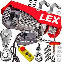 Тельфер электрический LEX LXEH1000 | 1000 кг