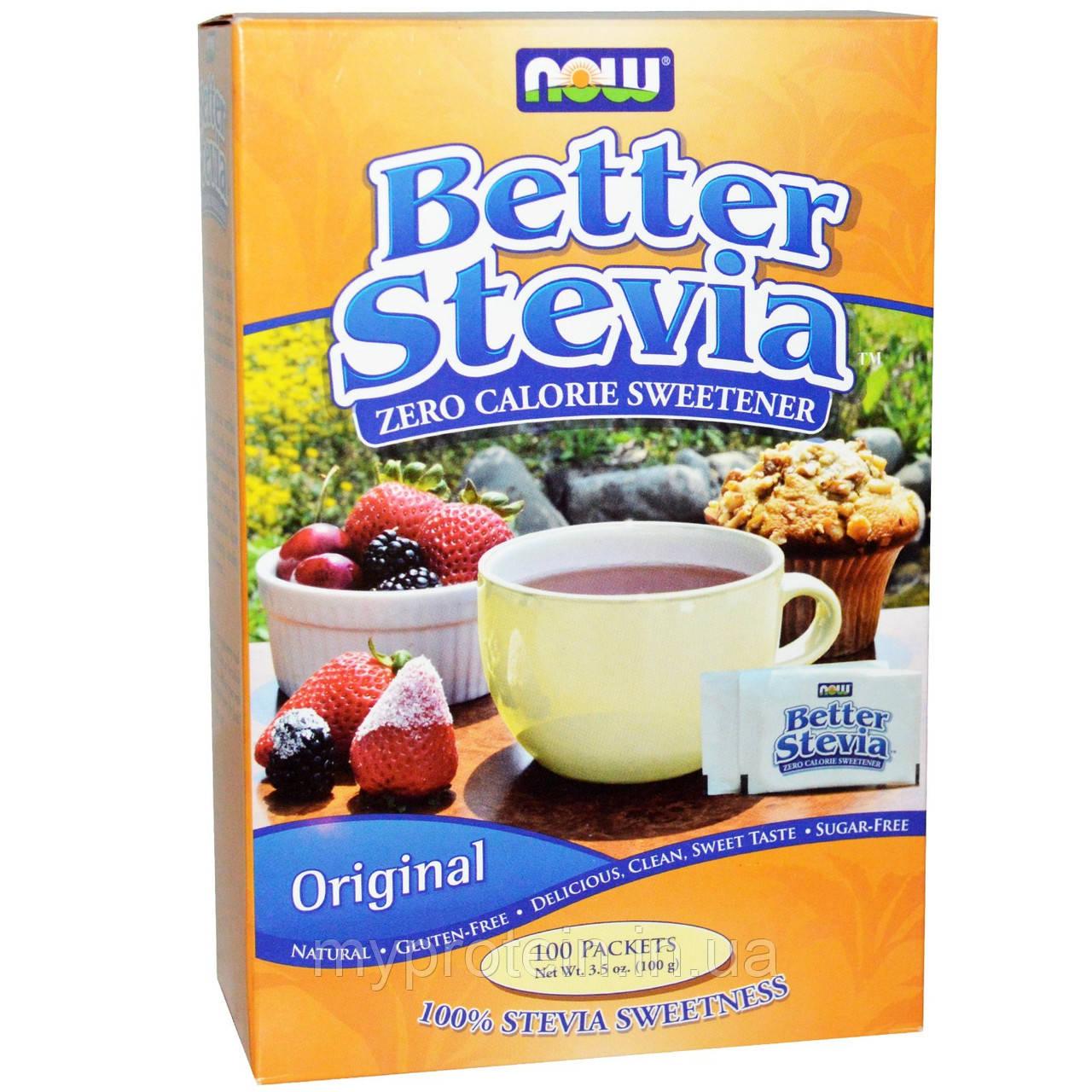 Заменитель питания стевиа Better Stevia 45 packets (45 g)