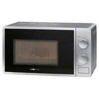 Микроволновая печь с грилем Clatronic MWG 792 (серебристый), 20 литров,таймер 30 минут