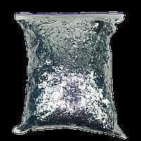 Конфетти мишура, серебро, 1 кг