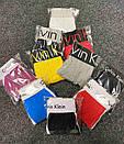 Брифы Calvin Klein серии 365 серого цвета с оранжевой резинкой, фото 7