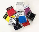 Нижнее белье Calvin Klein 365 серого цвета с красной резинкой, фото 3
