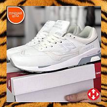 🔥 Мужские кроссовки повседневные New Balance 1500 white|white нью беленс белые