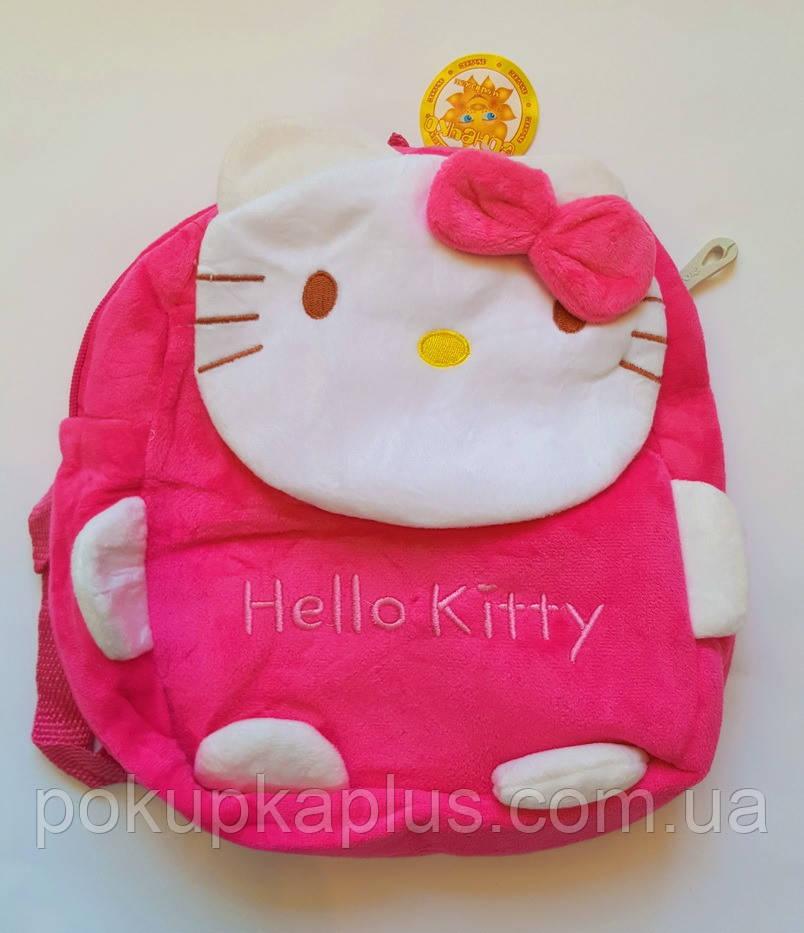 Детский рюкзак мягкий для мальчика hELLO kITTY Код К-4