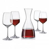 Набор для вина Bohemia Giselle 5 пр