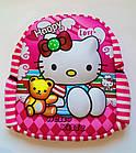 Детский рюкзак мягкий для мальчика hELLO kITTY 3Д Код К-5