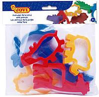 Набор аксессуаров для лепки JOVI Джови Формочки Африка пластиковые 6 шт. (7J)