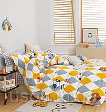 Комплект постельного белья полуторный подростковый сатин Bella Villa B- 0277