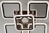 Светодиодная люстра с диммером, подсветкой и MP3, 125W, фото 3