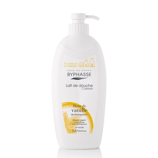 Byphasse Caresse Shower Cream Крем для душа  Fleur de Vanille 1 литр