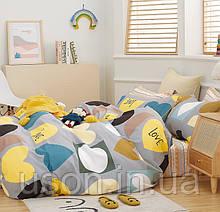 Комплект постельного белья полуторный подростковый сатин Bella Villa B- 0283
