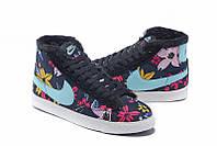 Зимние женские кроссовки Nike Blazer