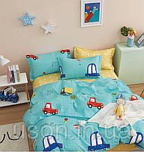 Комплект постельного белья полуторный подростковый сатин Bella Villa B- 0284