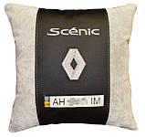 Подушка автомобильная с логотипом авто Renault рено, фото 4