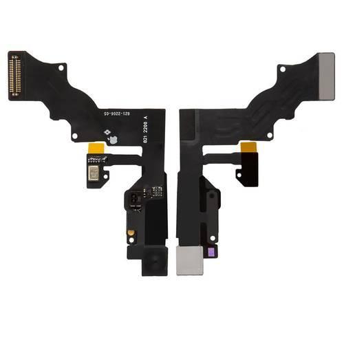 Шлейф для iPhone 6 Plus, з сенсором наближення, з мікрофоном, з камерою