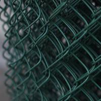Сетка рабица мет. + ПВХ 35х35мм d2,5мм (1,5х10м), фото 1