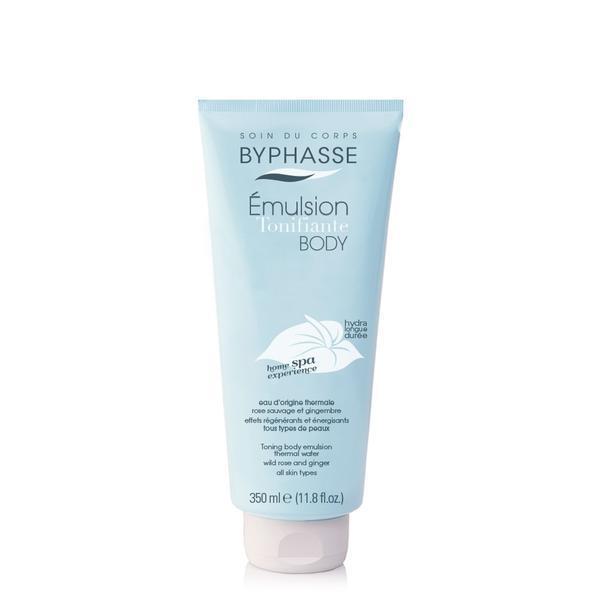 Byphasse Home Spa Experience Toning Body Emulsion Эмульсия для тела тонизирующая увлажнение и питание 350 мл
