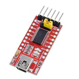 MiniUSB - UART TTL FT232RL 6pin конвертер, Arduino
