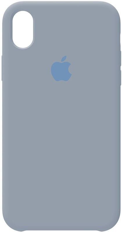 Чехол-накладка TOTO Silicone Case Apple iPhone XR Pebble Grey #I/S