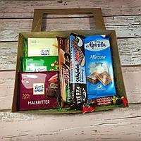 Подарочный набор Бокс Сладости (шоколад, конфеты) / box - 008