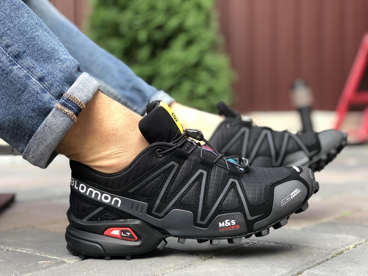 Кросівки чоловічі в стилі Salomon Speedcross 3   чорні