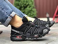 Кросівки чоловічі в стилі Salomon Speedcross 3   чорні, фото 1