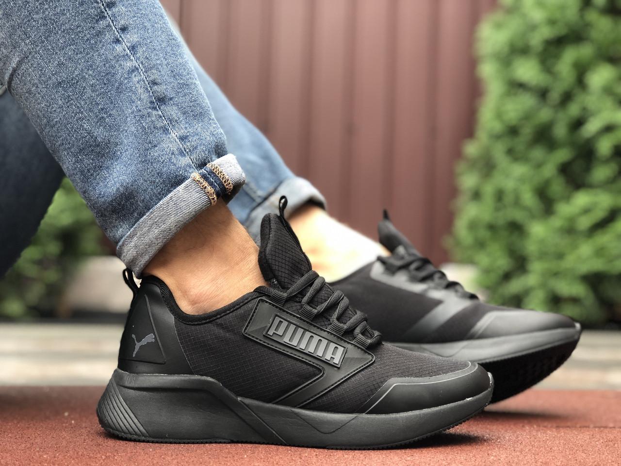 Кросівки чоловічі в стилі Puma  чорні