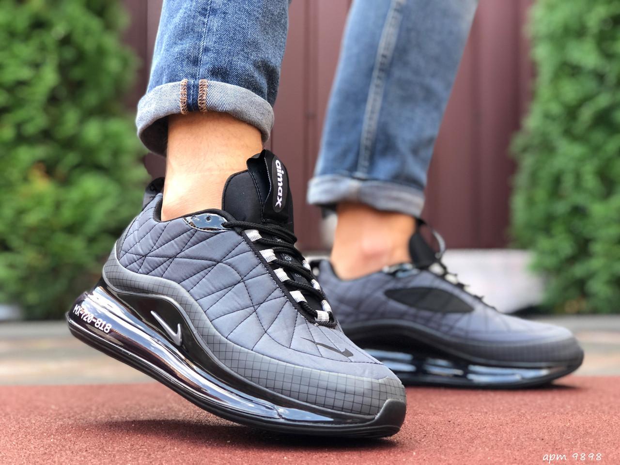 Кросівки чоловічі в стилі  Nike Air Max 720  сірі   термо