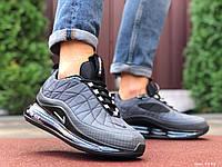 Кросівки чоловічі в стилі  Nike Air Max 720  сірі   термо, фото 1