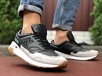 Кросівки чоловічі в стилі New Balance 1500  чорні з бежевим, фото 1