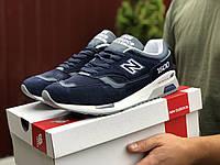 Кросівки чоловічі в стилі New Balance 1500 темно сині, фото 1