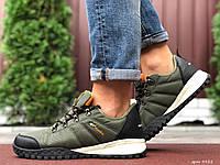 Кросівки чоловічі в стилі Columbia темно зелені  ( термо ), фото 1