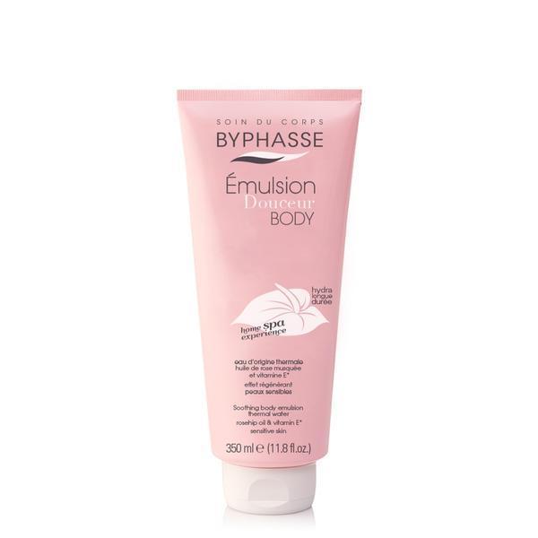 Byphasse Home Spa Experience Soothing Body Emulsion Эмульсия для тела успокаивающая увлажнение и питание 350 м