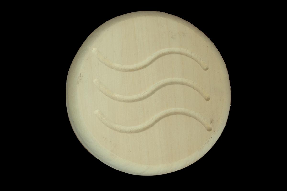 Вентиляційна Заглушка Greus Ø100 мм липа для лазні та сауни