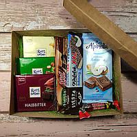 Подарочный набор Бокс Сладости (шоколад, конфеты) / box - 009