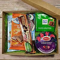 Подарочный набор Бокс Сладости (шоколад, конфеты) / box - 010