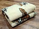 Ковдра двошарове з овчини двоспальне Євро 200х220, фото 7
