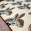 Ковдра двошарове з овчини двоспальне Євро 200х220, фото 4