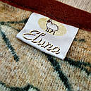 Ковдра двошарове з овчини двоспальне Євро 200х220, фото 3