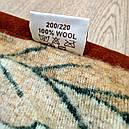 Ковдра двошарове з овчини двоспальне Євро 200х220, фото 2