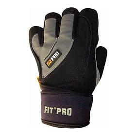 Перчатки для тяжелой атлетики Power System S2 Pro FP-04 Grey M